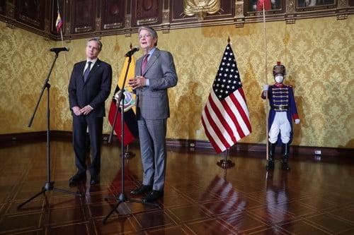 La cooperación en seguridad y lucha contra el narcotráfico, uno de los puntos de encuentro entre Estados Unidos y Ecuador